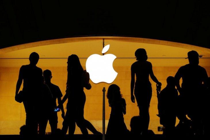 Corona ancam rantai produksi Apple, penjualan dan sahamnya jatuh