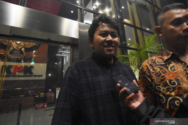 Putra Saiful Ilah dikonfirmasi KPK soal sumber pendanaan klub Deltras