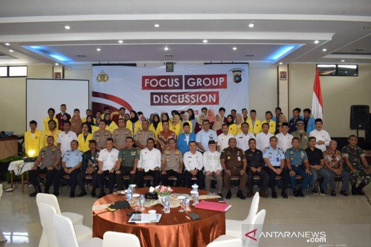 BEM se-Kabupaten Bangka antusias hadiri FGD Polres Bangka