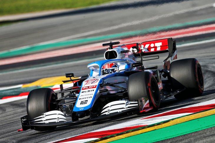 Russell akui merasakan peningkatan performa mobil baru Williams