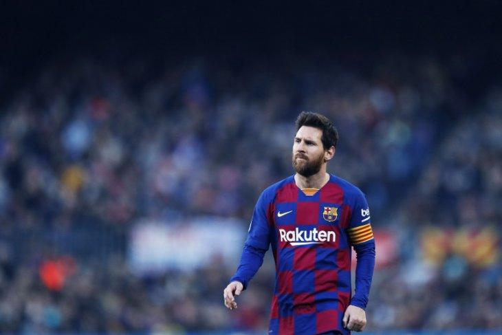 Tepis rumor hengkang, Lionel Messi bilang