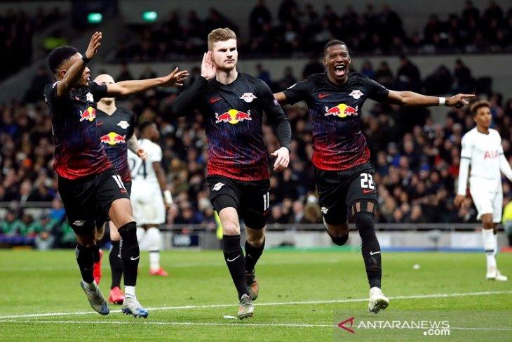 Penalti Werner antar Leipzig curi kemenangan di kandang Tottenham
