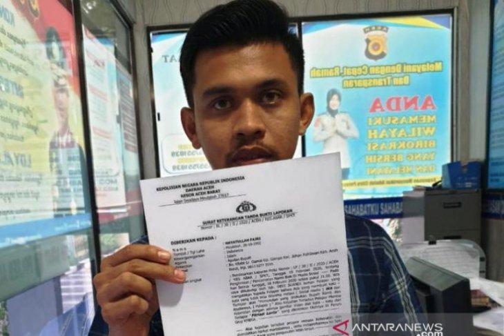 Ajudan Bupati Aceh Barat laporkan Ketua Forum KMBSA ke polisi