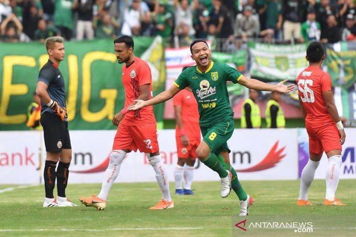 Gol dan selebrasi Persebaya vs Persija final Piala Gubernur Jatim 2020