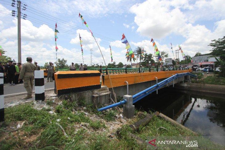 Peresmian Jembatan Bincau