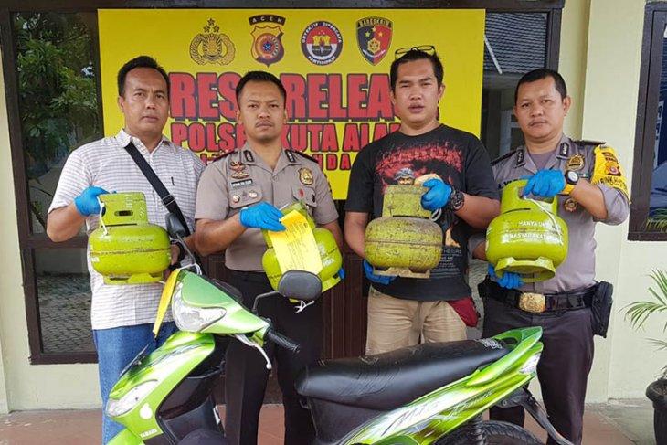 Polisi tangkap anak di bawah umur diduga curi tabung gas