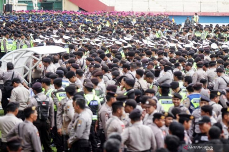 Ini, Polda Jatim siapkan kendaraan taktis kawal tim Persija Jakarta