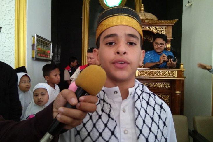 Dai cilik asal Palestina hadir di Makassar