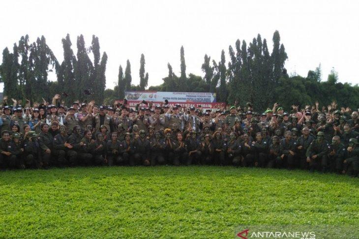 333 putra-putri Papua pegawai di 37 BUMN jalani pelatihan bela negara