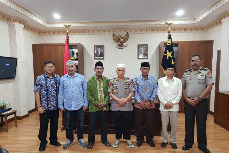 PWNU Provinsi Maluku silaturahim dengan Kapolda