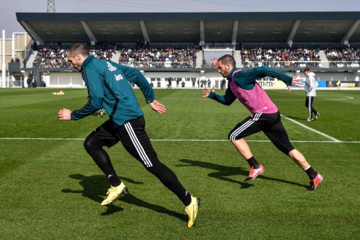 Pemain Juventus kembali berlatih, Ronaldo masih harus  jalani isolasi