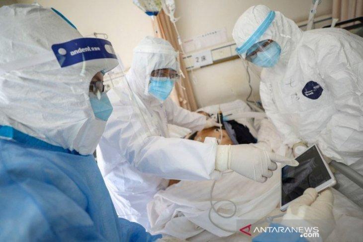 Hingga Jumat China catat  76.288 kasus corona dengan 2.345 kematian