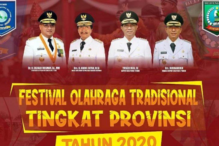 Festival Olahraga Tradisional 2020 siap jaga eksistensi olahraga tradisional di Babel