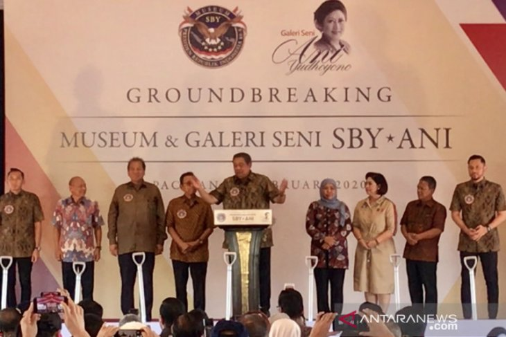 SBY: Museum di Pacitan amanah Ani Yudhoyono.