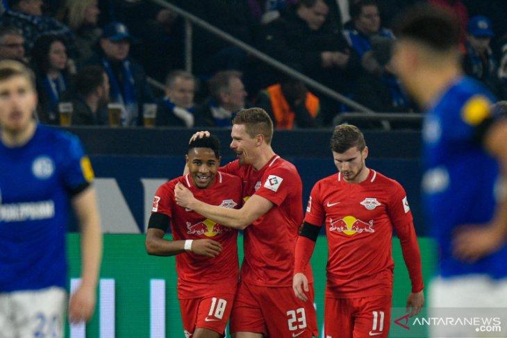 Liga Jerman: Leipzig pesta lima gol tanpa balas ke gawang Schalke