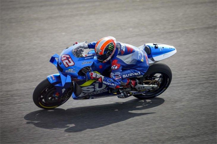 Duet pebalap Suzuki  puncaki hari pertama tes pramusim Qatar