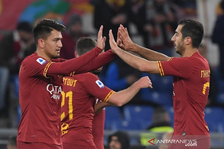 Liga Italia, Roma kembali ke jalur kemenangan dengan hantam Lecce 4-0