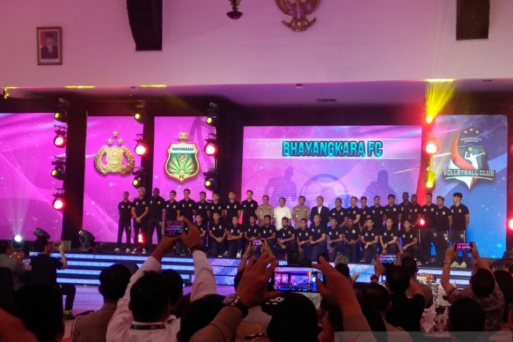 Liga 1 Indonesia, Bhayangkara FC perkenalkan 32 pemain
