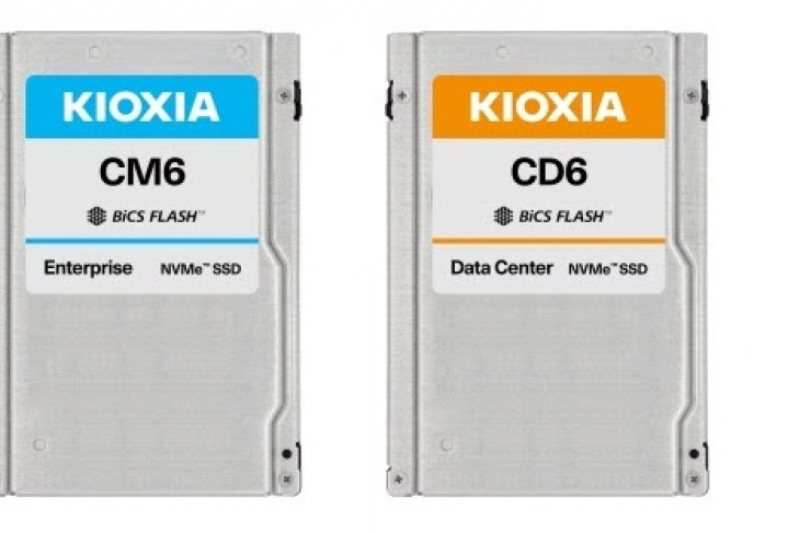 Kioxia first to deliver PCIe® 4.0 solid state drives