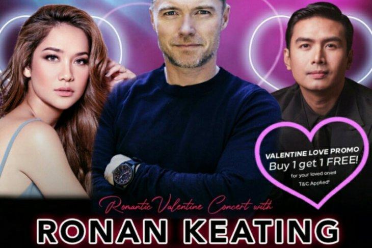 BCL dipastikan akan tampil sepanggung dengan Ronan Keating