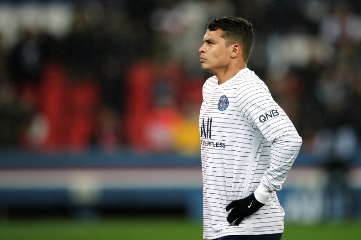 Thiago Silva dan Herrera bakal absen lama bela  PSG