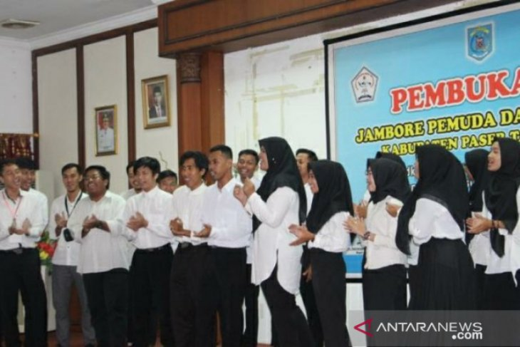 Jambore Pemuda di Paser diikuti 30 peserta