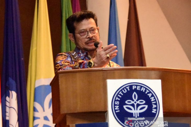 Menteri Pertanian ajak perguruan tinggi bersinergi bangun pertanian modern