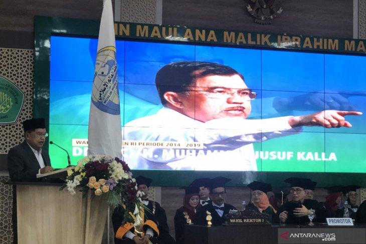Mantan Wakil Presiden Jusuf Kalla ingatkan Indonesia terus jaga toleransi