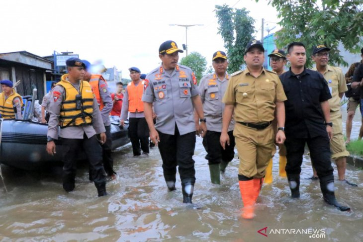 Tangani banjir, Kapolda apresiasi langkah cepat Pemkot Tangerang