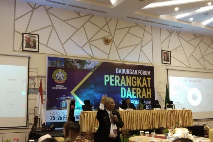 Bappeda: Berbagai persoalan dibahas pada FKPD Pontianak