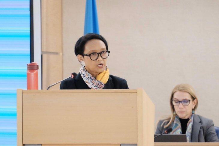 Minister Retno promotes women's empowerment in UN session