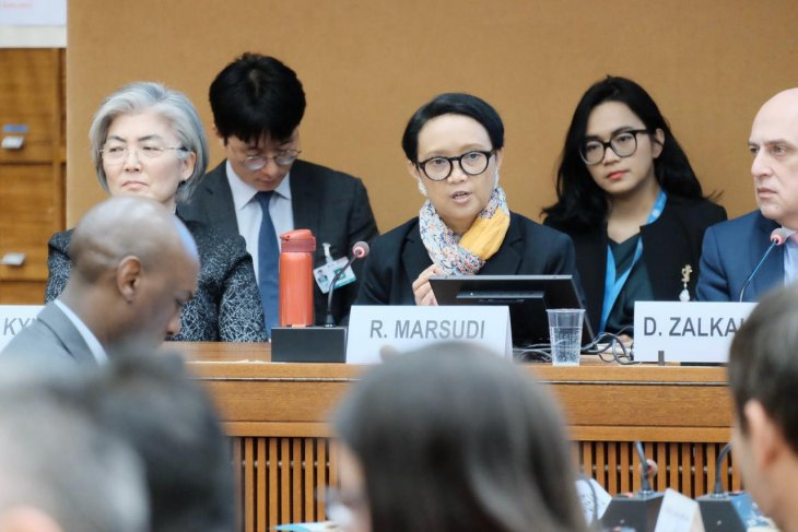Marsudi highlights Indonesian women's role at UNHRC forum