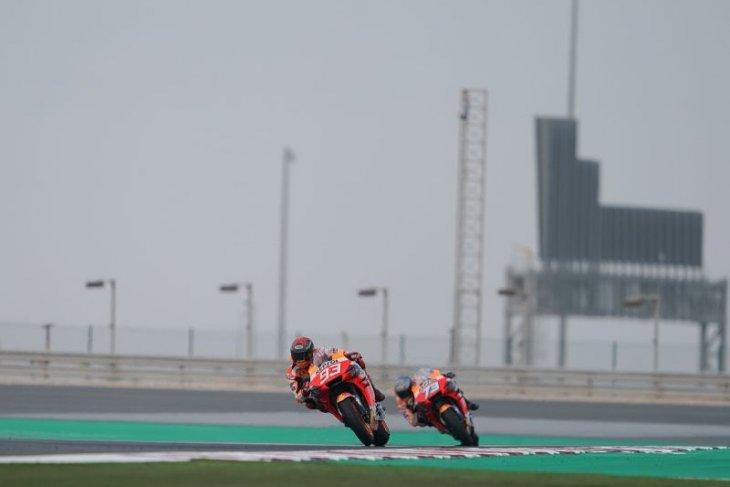 Marquez akui sempat khawatir dengan motor Honda. RC213V
