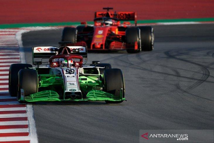 Formula 1 jalani pekan kedua tes pramusim Barcelona