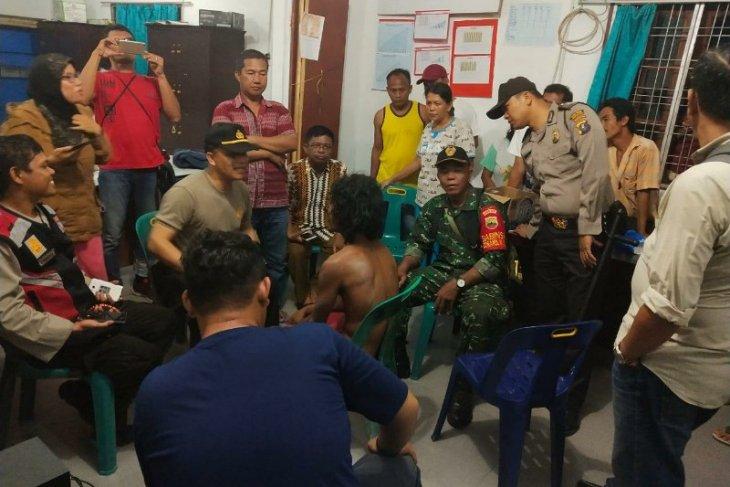 Diduga gila, polisi amankan pria tanpa identitas berkeliaran di Simalungun