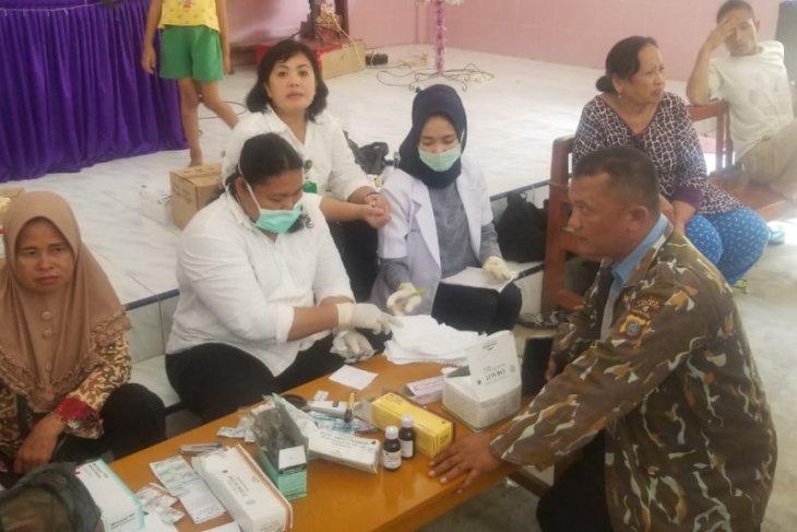 82 warga Pangkalan Susu Langkat keracunan makanan