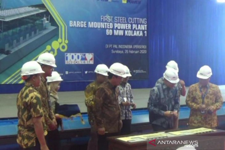 PT PAL Indonesia bangun kapal pembangkit listrik 150 MW