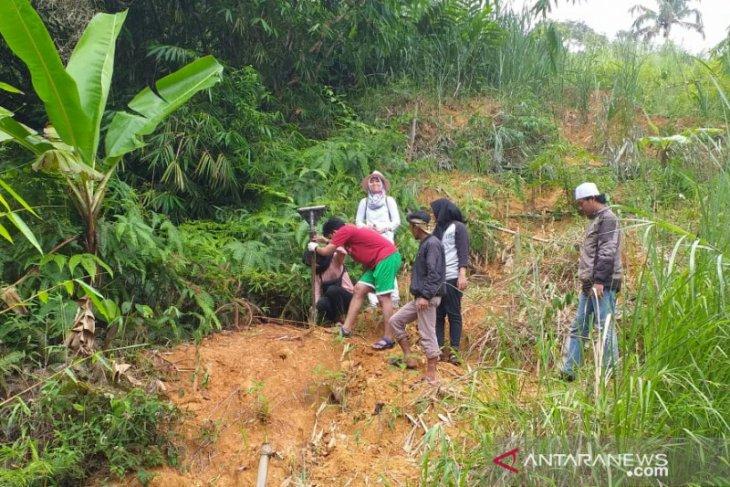 BPBD dan BPCB Banten antisipasi dua titik longsor di Gunung Padang