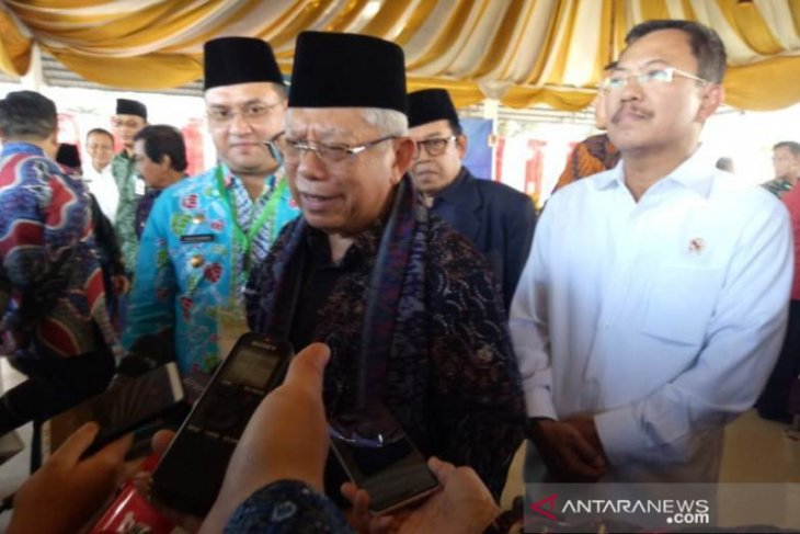 Wapres Ma'ruf Amin apresiasi Bangka Belitung tekan stunting