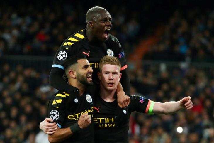City catat kemenangan penting 2-1 di kandang Madrid