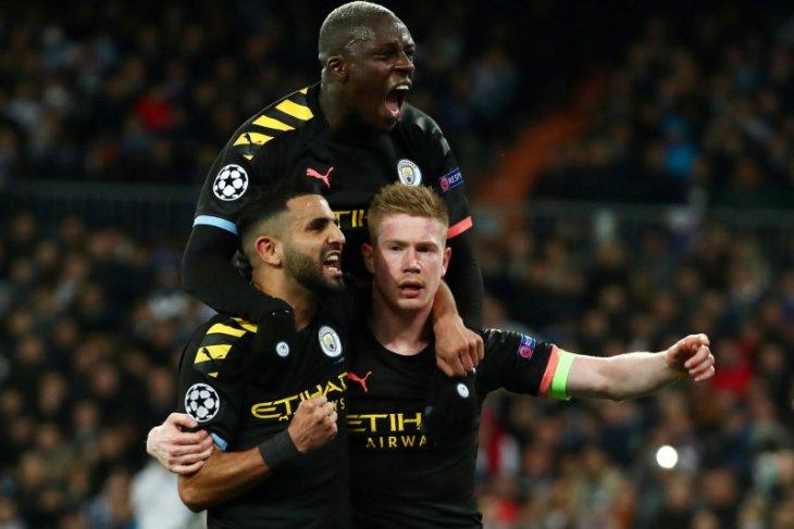 Liga Champion, City catat kemenangan penting 2-1 di kandang Madrid