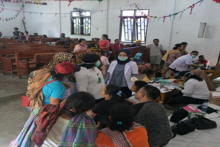 17 warga diduga keracunan daging babi di Pangkalan Susu dirujuk ke rumah sakit