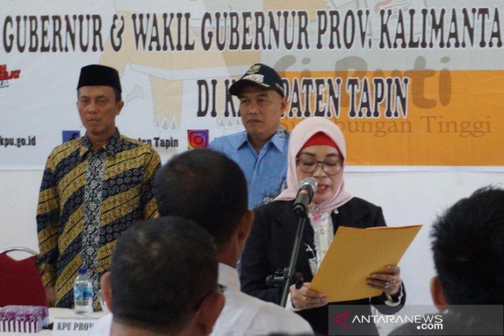 Ketua KPU Lantik 60 Anggota PPK di Tapin
