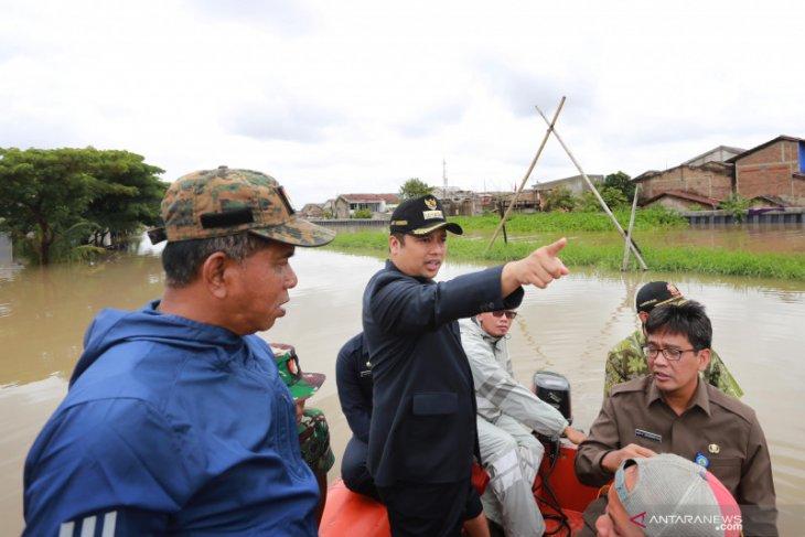 Pemprov Banten diminta bantu pembuatan kisdam sementara  atasi banjir di periuk
