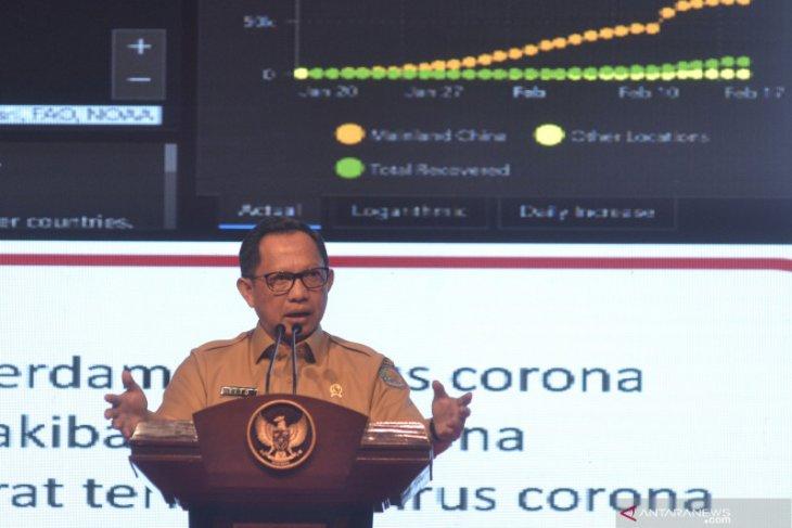 Mendagri minta pemerintah daerah tangguh hadapi dampak COVID-19 (video)