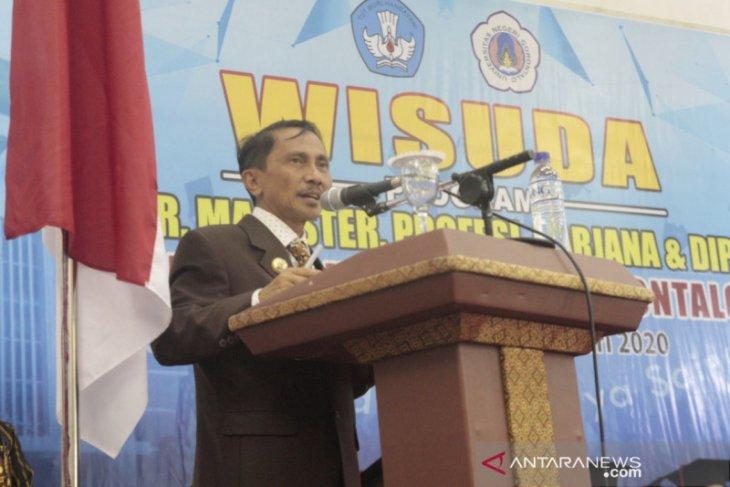 Bupati Gorontalo sampaikan orasi ilmiah di UNG