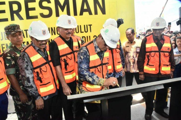 Paman Birin resmikan tiga jembatan penghubung Banjarmasin-Martapura