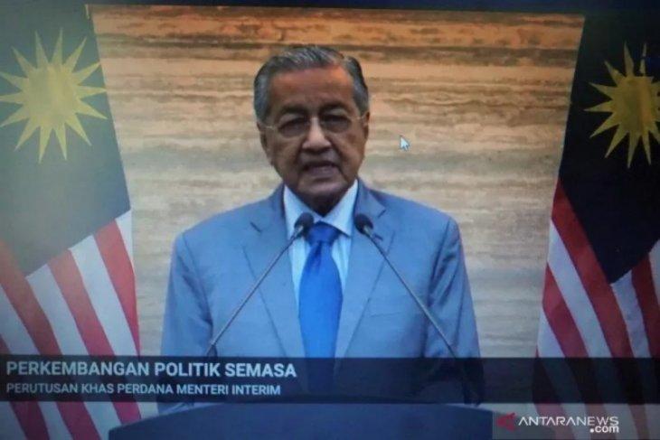 PM Mahathir hadap Raja Malaysia