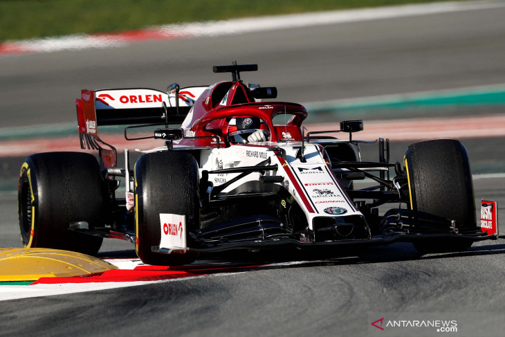 Formula1: Raikkonen kembali membalap di GP Rusia setelah sembuh dari COVID-19