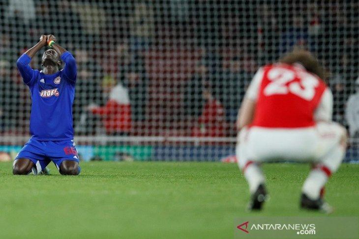 Hasil 32 besar Liga Europa : Arsenal terhenti dramatis oleh Olympiakos